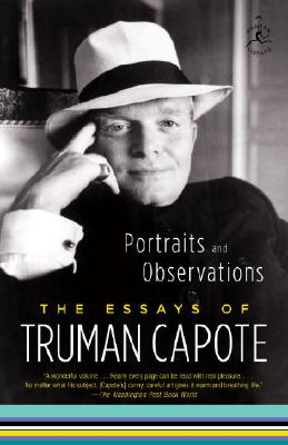 Image for Portraits and Observations: The Essays of Truman Capote (Modern Library Classics (Paperback))