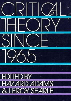 Image for Critical Theory Since 1965