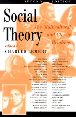 Image for Social theory: The Multicultural and Classic Readings (2nd edition)