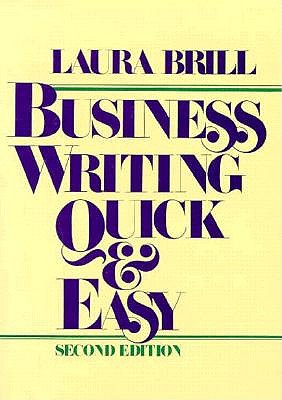Image for Business Writing Quick and Easy
