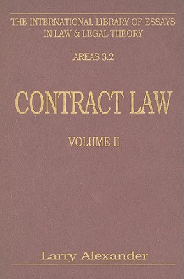 Image for Contract Law (International Library of Essays in Law and Legal Theory), vol II