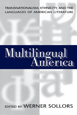 Image for Multilingual America: Transnationalism, Ethnicity, and the Languages of American Literature