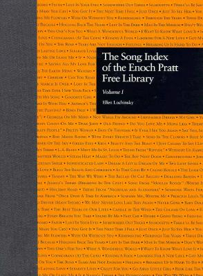 Image for The Song Index of the Enoch Pratt Free Library (Garland Reference Library of the Humanities)