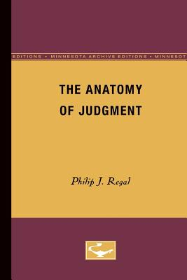 Image for The anatomy of judgment