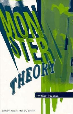 Image for Monster Theory: Reading Culture