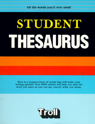 Image for Troll Student Thesaurus