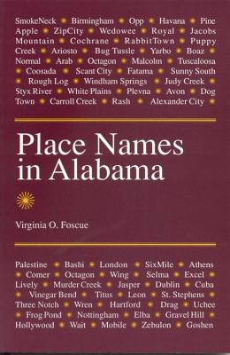 Image for Place Names in Alabama
