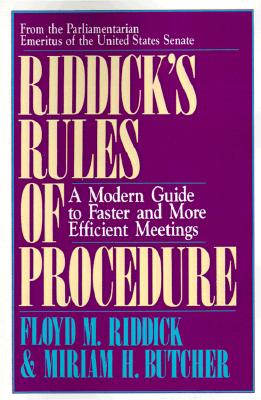 Image for Riddick's Rules