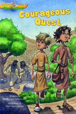 Image for #5 Courageous Quest (Gospel Time Trekkers)
