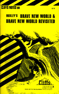 Image for Brave New World and Brave New World Revisited Notes (Cliffs notes)