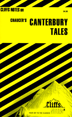 Image for Canterbury Tales Notes (Cliffs notes)