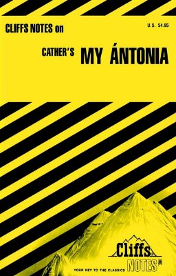 Image for CliffsNotes My Ántonia (Cliffs Notes)