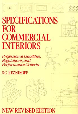 Image for Specifications for Commercial Interiors