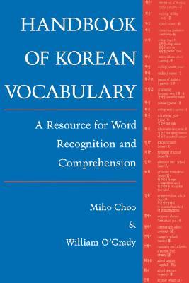 Image for Handbook of Korean Vocabulary