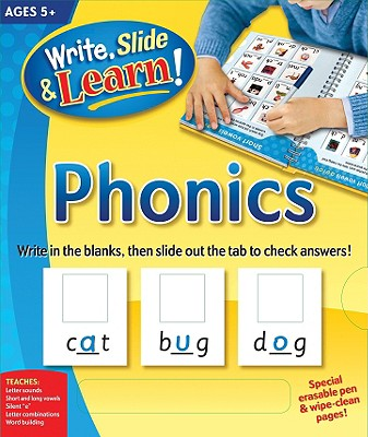Write, Slide, and Learn!: Phonics (Write, Slide & Learn), Edited