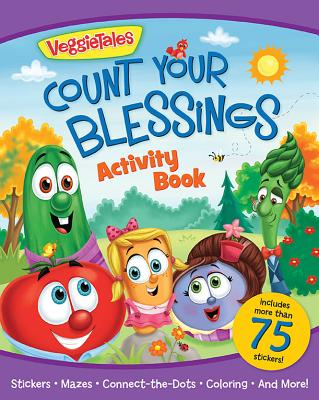 Image for VeggieTales Count Your Blessings Activity Book