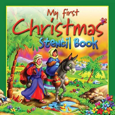 My First Christmas Stencil Book (Stencil Books), Tim Dowley