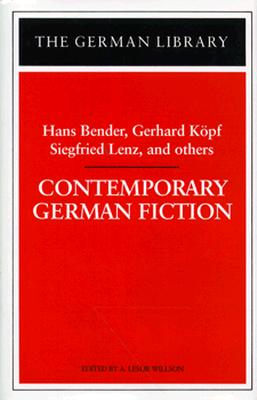 Image for Contemporary German Fiction
