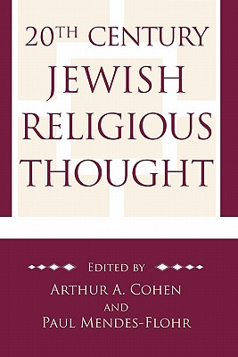 Image for 20th Century Jewish Religious Thought