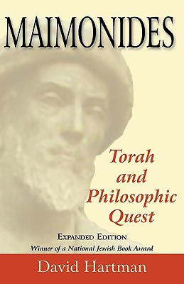 Image for Maimonides, Expanded Edition: Torah and Philosophic Quest