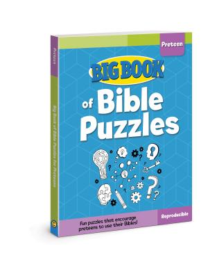 Image for Big Book of Bible Puzzles for Preteens (Big Books)