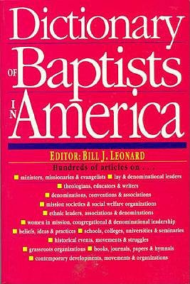 Image for Dictionary of Baptists in America