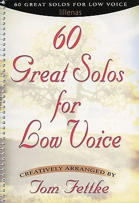 Image for 60 Great Solos for Low Voice: Piano/Vocal