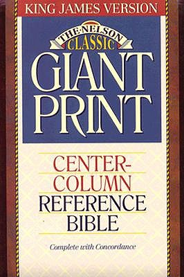 "Image for ""''KJV Giant Print Classic Series Reference Bible (Thumb Indexed, Burgundy Leatherflex)''"""