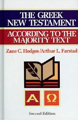 Image for The Greek New Testament According to Majority Text (English and Greek Edition)