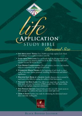Image for LIFE APPLICATION STUDY BIBLE NLT, PERSONAL SIZE