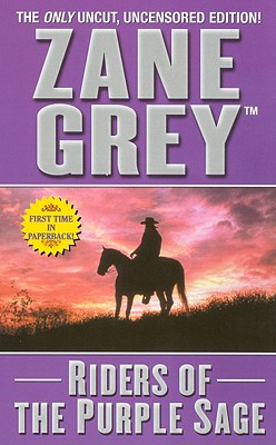 Image for Riders of the Purple Sage (Leisure Historical Fiction)