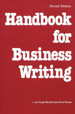 Image for Handbook For Business Writing