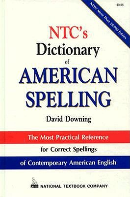 Image for NTC'S DICTIONARY OF AMERICAN SPELLING