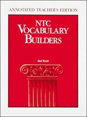 Image for NTC Vocabulary Builders Level 1: Red Book- Annotated Teacher's Edition