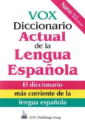 Image for Vox Diccionario Actual De La Lengua Espanola