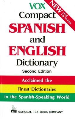 Vox Compact Spanish and English Dictionary, Vox