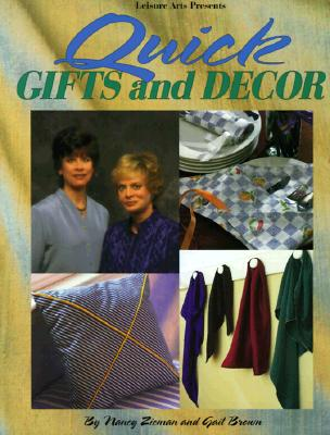 Image for Quick Gifts and Dcor (Sewing with Nancy)