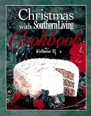 Image for Christmas With Southern Living Cookbook