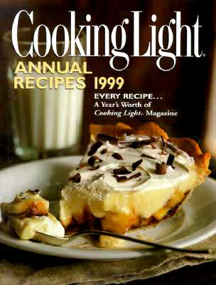 Image for Cooking Light Annual Recipes 1999 (Cooking Light Annual Recipes)