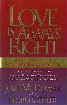 Image for Love is Always Right