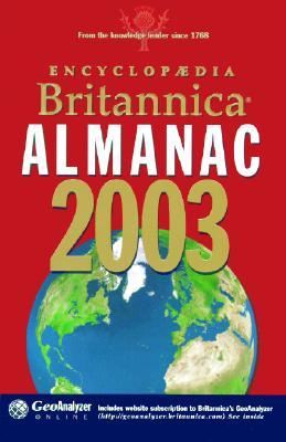 Image for Encyclopaedia Britannica Almanac 2003 (Encyclopedia Britannica Almanac)