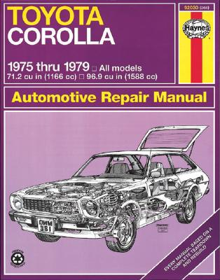 Image for TOYOTA COROLLA 1975 THRU 1979 OWNERS WORKSHOP MANUAL