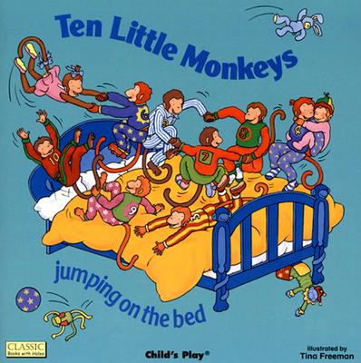 Image for Ten Little Monkeys Jumping on the Bed: Books with Holes