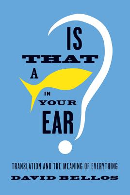 Image for Is That A Fish in Your Ear?
