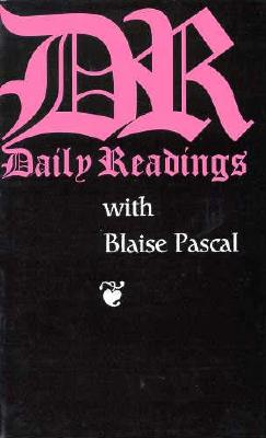 Image for Daily Readings With Blaise Pascal (Daily Readings Series)