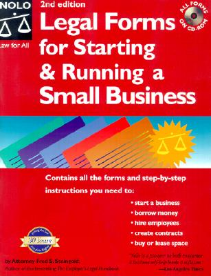 Image for Legal Forms for Starting and Running a Small Business (2nd ed.)