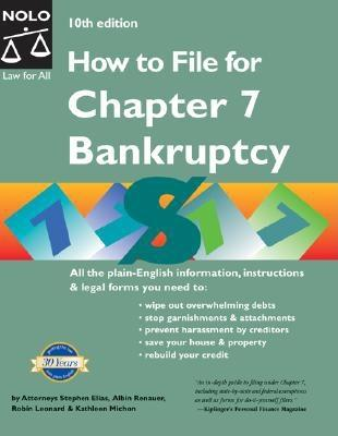 Image for How to File for Chapter 7 Bankruptcy, 10th Edition