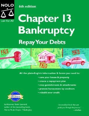 Image for Chapter 13 Bankruptcy: Repay Your Debts