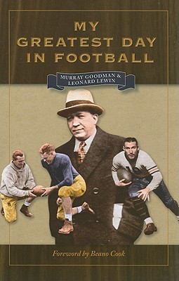 Image for My Greatest Day in Football (Writing Sports Series)