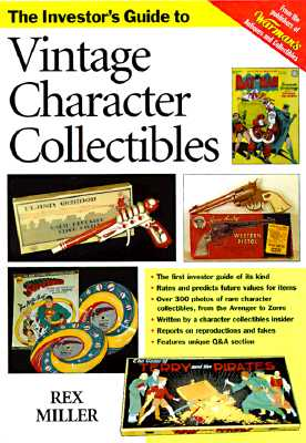 Image for VINTAGE CHARACTER COLLECTIBLES